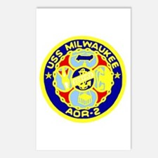 USS Milwaukee (AOR 2) Postcards (Package of 8)