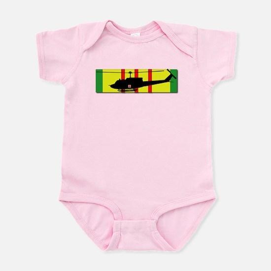 Vietnam - VCM - UH-1 Huey - Mediev Infant Bodysuit