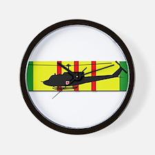 Vietnam - VCM - UH-1 Huey - Medievac Wall Clock