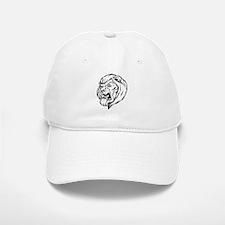 Lion Mascot (Black) Baseball Baseball Cap