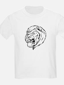 Lion Mascot (Black) T-Shirt