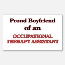 Proud Boyfriend of a Occupational Therapy Decal