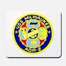 USS Milwaukee (AOR 2) Mousepad
