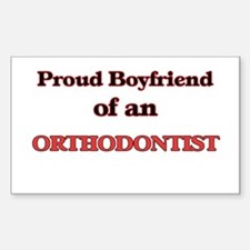 Proud Boyfriend of a Orthodontist Decal