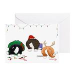 Welsh Corgi Christmas Cards (Pk of 20)