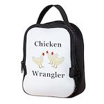 Chicken Wrangler Neoprene Lunch Bag