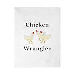 Chicken Wrangler Twin Duvet
