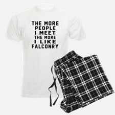 I Like More Falconry Pajamas