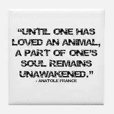 Loving Animals Tile Coaster