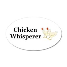 Chicken Whisperer Wall Decal