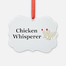 Chicken Whisperer Ornament