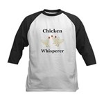 Chicken Whisperer Kids Baseball Jersey