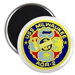 "USS Milwaukee (AOR 2) 2.25"" Magnet (10 pack)"