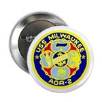 "USS Milwaukee (AOR 2) 2.25"" Button (100 pack)"