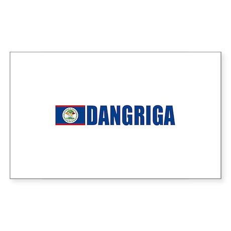 Dangriga, Belize Rectangle Sticker