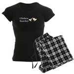 Chicken Rancher Women's Dark Pajamas