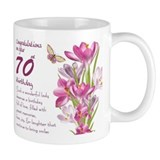 70th birthday Small Mugs (11 oz)