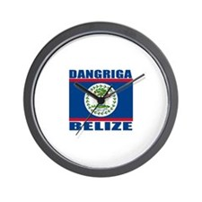 Dangriga, Belize Wall Clock