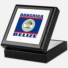 Dangriga, Belize Keepsake Box
