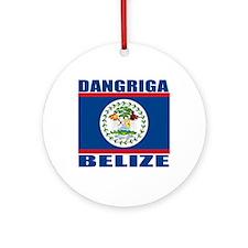Dangriga, Belize Ornament (Round)