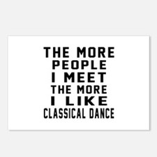 I Like More Classical Dan Postcards (Package of 8)