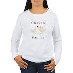 Chicken Farmer Women's Long Sleeve T-Shirt