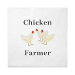 Chicken Farmer Queen Duvet