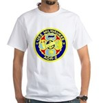 USS Milwaukee (AOR 2) White T-Shirt