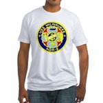 USS Milwaukee (AOR 2) Fitted T-Shirt
