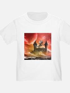 Dragon over a castle T-Shirt