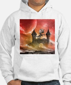 Dragon over a castle Hoodie