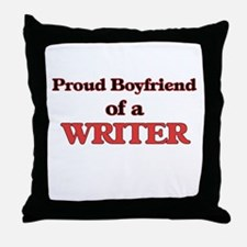 Proud Boyfriend of a Clerical Assista Throw Pillow
