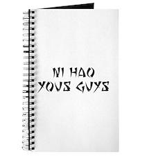 NI HAO YOUS GUYS Journal