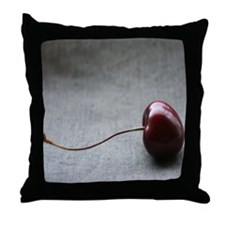 """""""Cherry"""" Throw Pillow"""