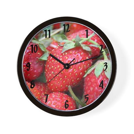 """""""Summer Berry"""" Wall Clock"""