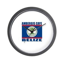 Ambergis Caye, Belize Wall Clock