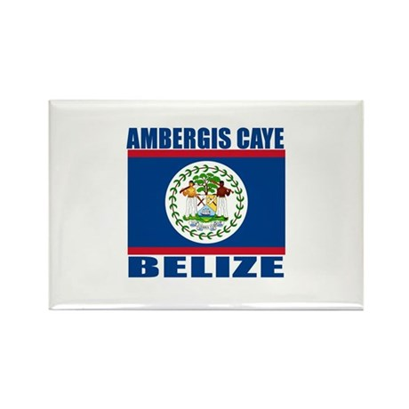 Ambergis Caye, Belize Rectangle Magnet (100 pack)