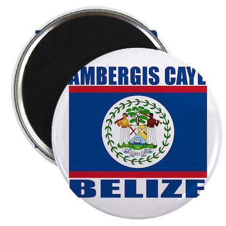 "Ambergis Caye, Belize 2.25"" Magnet (10 pack)"