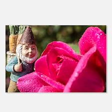 Cute Angela rose Postcards (Package of 8)