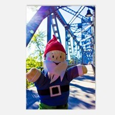 Traveling gnome Postcards (Package of 8)