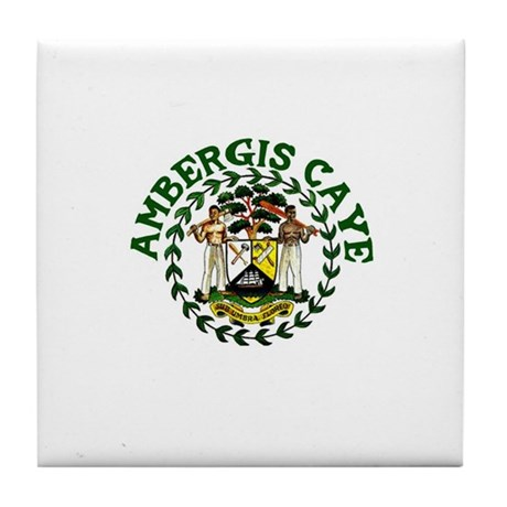 Ambergis Caye, Belize Tile Coaster