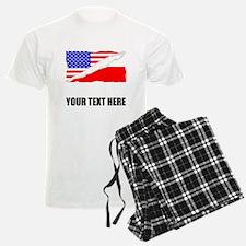 Polish American Flag Pajamas