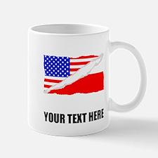 Polish American Flag Mugs