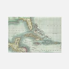 Funny Cartography map Rectangle Magnet