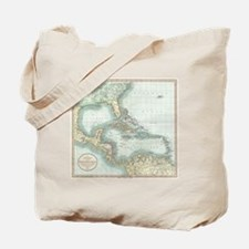 Cute Caribbean islands Tote Bag