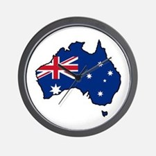 Cool Australia Wall Clock