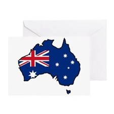 Cool Australia Greeting Card