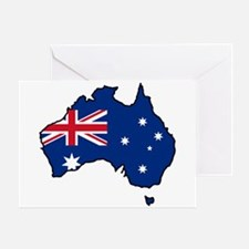 Cool Australia Greeting Card