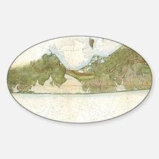 Unique East hampton Sticker (Oval)