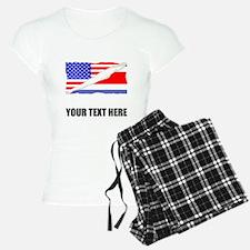 Costa Rican American Flag Pajamas